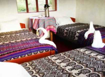 Triple Room in Llactapata Lodge